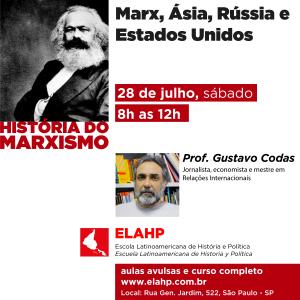 Marx, Ásia, Rússia e Estados Unidos com o Prof. Gustavo Codas
