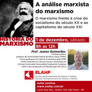 A análise marxista do marxismo, com Juarez Guimarães